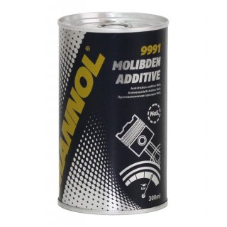 Dodatek do oleju, molibden - MANNOL - 9991 - Molibden Additive - 300ml