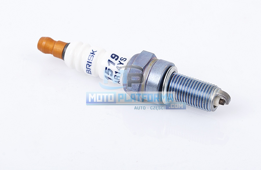 1X SPARK PLUG Brisk AR14YS = ALFA ROMEO 6059 9495 60599495 APRILIA 8550352 BERU